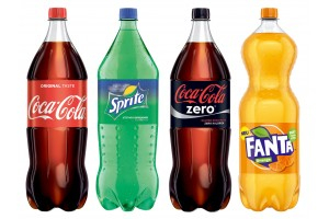 Coca-Cola, Sprite, Fanta
