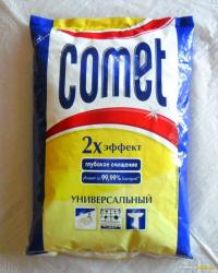 """Чистящий порошок """"Comet"""" в мягкой упаковке"""