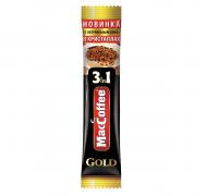 Быстрорастворимый кофе МасСоffe Gold  3в1