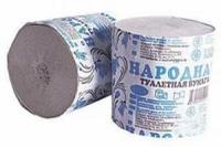 Туалетная бумага Народная рулон