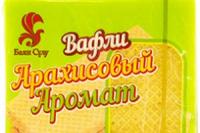 Вафли «Арахисовый аромат» 400 гр. (Баян Сулу)