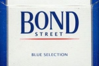 Сигареты Bond Street Blue 10шт. (1 БЛОК)