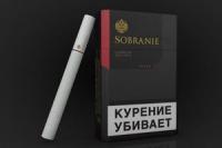 Сигареты SOBRANIE black       1-пачка
