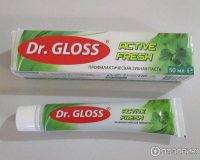 Зубная паста Dr. GLOSS. 50мл.