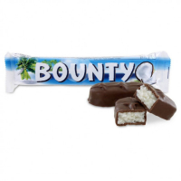 BOUNTY (баунти) шоколад 55гр.