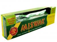 Набор: зубная паста MISWAK и зубная щетка