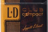 Сигареты ld club gold compact 10шт.